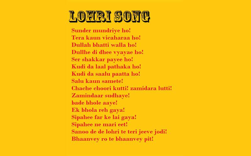Lohri Song